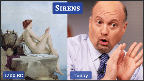The Sirens of Mythology & Today